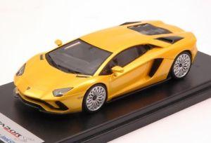【送料無料】模型車 モデルカー スポーツカーランボルギーニモデルjm 2188494 looksmart ls468a lamborghini aventador s 2016 yellow orion 143 model