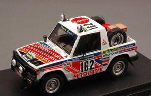 【送料無料】模型車 モデルカー スポーツカーレーシングパジェロダカールjm2130935hpi racing hpi8878 mitsubishi pajero n162 14th parisdakar 1983 debuss
