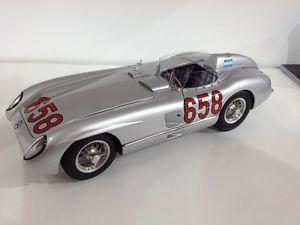 【送料無料】模型車 モデルカー スポーツカーレフミッレミリアm117 mb 300 slr mille miglia 1955 fangio limited 658 2000 118 cmc