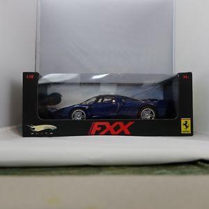 【送料無料】模型車 モデルカー スポーツカーホットホイールエリートフェラーリ118, limited edition, hot wheels elite, ferrari fxx, blue