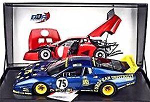 【送料無料】模型車 モデルカー スポーツカーフェラーリルマン#レーシングアズールアズールferrari 512 bb le mans 1980 75 jcons racing azul azul metalizado 118 bbr