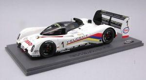 【送料無料】模型車 モデルカー スポーツカースパークモデルプジョーjm 2127568 spark model s24lms006 peugeot 905 n1 winner lm 1992 124 figure