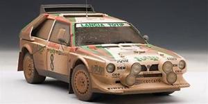 【送料無料】模型車 モデルカー スポーツカーランチアデルタ#ラリーサンレモlancia delta s4 totip 8 rally sanremo 1986 cerratocerri will autoart 118 aa88