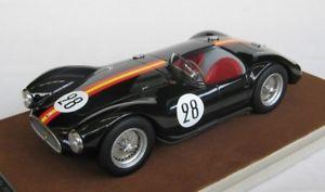 【送料無料】模型車 モデルカー スポーツカーマセラティマセラティリタイヤルマンドjm 2146245 tecnomodel tmd1844a maserati a6 gcs n28 dnf le mans 1954 de portago