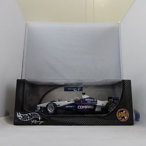 【送料無料】模型車 モデルカー スポーツカーファンパブロモントーヤウィリアムズチーム118, juan pablo montoya, williams f1 team fw23 2001 hand signed