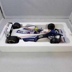 【送料無料】模型車 モデルカー スポーツカーアイルトンセナウィリアムズレーシングカーコレクション118, ayrton senna, williams fw 16, 1994, racing car collection 593