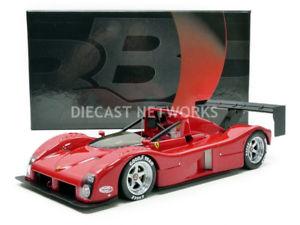 【送料無料】模型車 モデルカー スポーツカーフェラーリバージョンキーbbr 118 ferrari 333 sppress version 1994 bbrc 1819v