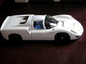【送料無料】模型車 モデルカー スポーツカーポルシェプロトタイプ1966 porsche 910 works prototype, white, exoto mtb00060 118