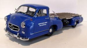モデルカー 118ダイカストm036 【送料無料】模型車 mercedesベンズ1954renntransporterトラック スポーツカーcmc