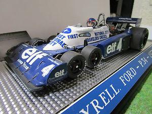 【送料無料】模型車 モデルカー スポーツカーティレルフォード#モナコf1 tyrrell ford p34 4 depailler gp monaco viajeros comprueba en la 118 exoto