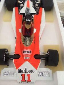 【送料無料】模型車 モデルカー スポーツカージェームスハントマルボロマクラーレンイギリスフルディテールjames hunt 118 m23 marlboro mclaren british gp 76 full detail
