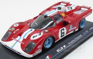 【送料無料】模型車 モデルカー スポーツカーフェラーリチームスクーデリアルマンモデルferrari 512m team scuderia filipinetti le mans 1971 rare models 118 rare18006 m