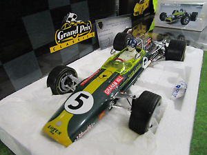 【送料無料】模型車 モデルカー スポーツカーロータスグランプリヒルf1 lotus tipo 49 grand prix sudfrica 1968 hill 118 exoto 97003 frmula 1