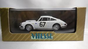 Wiking Porsche 911 S Edelstahlwagen 1967 NEU /& OVP