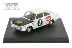 Trofeu 2203 Ford Cortina MK I Winner RAC Rally 1966 B Soderstrom 1//43 Scale