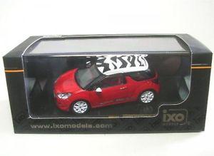 【送料無料】模型車 モデルカー スポーツカーシトロエンスポーツシックホワイトcitroen ds3 sport chic redwhite 2011