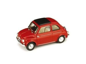 BU210527RE Fiat 500 C Red 1:24 Burago