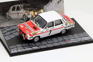 【送料無料】模型車 モデルカー スポーツカールノー#モンテカルロラリーrenault 12 gordini 7 rallye monte carlo 1973 143 altaya