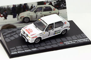【送料無料】模型車 モデルカー スポーツカーシトロエンビザピステモンテカルロラリーアルタcitroen visa 1000 pistes 7 rallye monte carlo 1985 andruet, peuvergne 143 alta