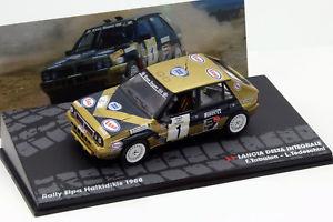 【送料無料】模型車 モデルカー スポーツカーランチアデルタ#ラリーlancia delta integrale 1 rallye elpa halkidikis 1988 tabaton, tedeschini 143 a