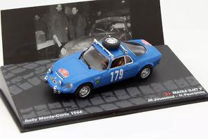 【送料無料】模型車 モデルカー スポーツカー#モンテカルロラリーmatra djet v 179 rallye monte carlo 1966 jaussaud, pescarolo 143 altaya