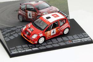 【送料無料】模型車 モデルカー スポーツカーシトロエン#ラリータルガフローリオcitroen c2 s1600 4 rallye targa florio 2004 143 altaya