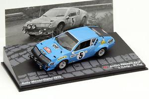 【送料無料】模型車 モデルカー スポーツカーアルパインルノー#ラリーモンテカルロバイアルalpine renault a310 5 rallye montecarlo 1975 jtherier, m vial 143 altaya