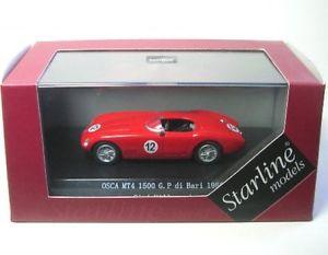 【送料無料】模型車 モデルカー スポーツカーバーリosca mt4 1500 12 bari 1956