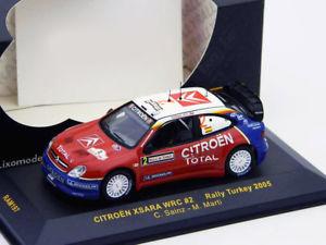【送料無料】模型車 モデルカー スポーツカーシトロエンクサラ#ラリートルコネットワークcitroen xsara wrc 2 rallye turkey 2005 143 ixo