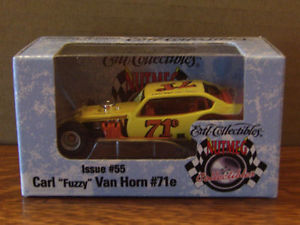 【送料無料】模型車 モデルカー スポーツカーカールヴァンホーン#ベガcarl van horn 71e dirt modified legends vega 164 ertl
