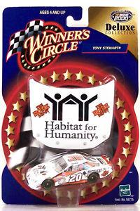 【送料無料】模型車 モデルカー スポーツカーフードトニースチュワート#ホームデポhasbro hood ~ winners circle ~ tony stewart ~ 20 home depothabitat ~ 164