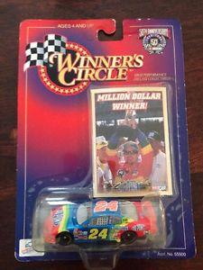 【送料無料】模型車 モデルカー スポーツカージェフゴードン# winner's circle jeff gordon 24 nascar 50th anniversary