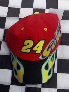 【送料無料】模型車 モデルカー スポーツカージェフゴードン##ボールキャップレッドjeff gordon 24 enjoytheride nascar ball cap hat red amp; yellow