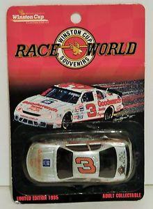 【送料無料】模型車 モデルカー スポーツカーデイルアーンハート#シルバーレースプロモーションモンテdale earnhardt 3 goodwrench silver 1995 164 race world souvenirs promo monte
