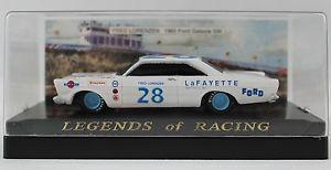 【送料無料】模型車 モデルカー スポーツカーレーシング#フレッドフォードスケール1992 legends of racing 28 fred lorenzen 1965 ford galaxie 500 143 scale