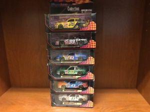 【送料無料】模型車 モデルカー スポーツカーレースイメージロットlot of 6 143 race image diecasts nascar