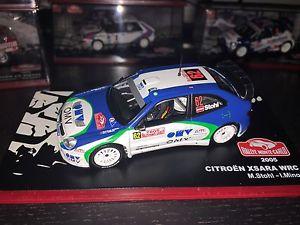 【送料無料】模型車 モデルカー スポーツカーシトロエンクサララリーモンテカルロcitroen xsara wrc rally monte carlo 2005 manfred stohl