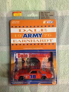 【送料無料】模型車 モデルカー スポーツカーデイルアーンハートアクションdale earnhardt 164 action army car 1976