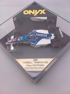 【送料無料】模型車 モデルカー スポーツカーティレルヤマハ#ドライバー#tyrrell yamaha 023, onyx 239,driver ukyo katayama 3,143