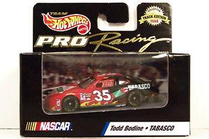 【送料無料】模型車 モデルカー スポーツカーホットホイールプロレーシングトッド#hot wheels ~ pro racing ~ todd bodine ~ 35 tabasco