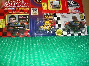 【送料無料】模型車 モデルカー スポーツカージェフゴードンレースカーロットボーナス164 lot of 3 jeff gordon race cars amp; bonus 1144
