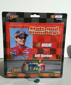 【送料無料】模型車 モデルカー スポーツカーランキング#ジェフゴードン 1999 winners circle 164 stats and standings car nascar 24 jeff gordon