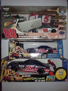 【送料無料】模型車 モデルカー スポーツカーデイルジャレットロットリモートdale jarrett amp; earnhardt jr nascar rc car lot remote control nib