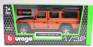 【送料無料】模型車 モデルカー スポーツカーランドローバーディフェンダースケールland rover defender 110 copper coloured scale 13 2 by bburago