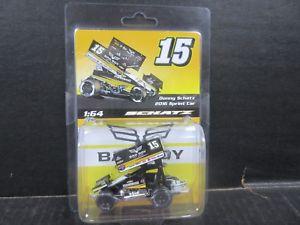 【送料無料】模型車 モデルカー スポーツカースプリントカー#ドニーシャッツスケール2016 sprint car bad boy 15 donny schatz 164th scale