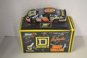 【送料無料】模型車 モデルカー スポーツカーケニーウォレスkenny wallace 124 square d 1998 revell cwc