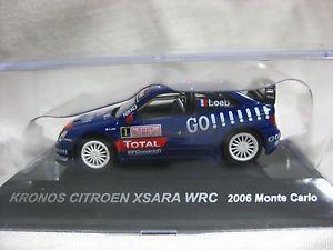 【送料無料】模型車 モデルカー スポーツカー#シトロエンモンテカルロラリーカーコレクション164 cm039;s citroen kronos xsara wrc 2006 monte carlo rally car collection