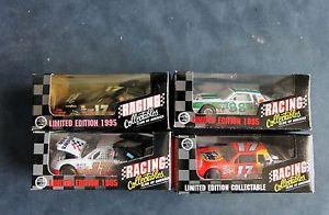 【送料無料】模型車 モデルカー スポーツカーレーシンググッズロットnascar racing collectables limited edition 1995 lot of 4 cars