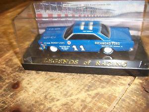 【送料無料】模型車 モデルカー スポーツカー#レーシングネッドフォードプラスチックケース 11 legends of racing ned jarrett 1965 ford galaxie 500 plastic case