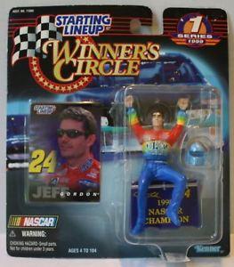 【送料無料】模型車 モデルカー スポーツカーラインナップ#サークルジェフゴードンtas020489 1999 starting lineup winner039;s circle nascar jeff gordon